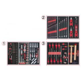 Composition d'outils pour servante 158 pièces KS TOOLS