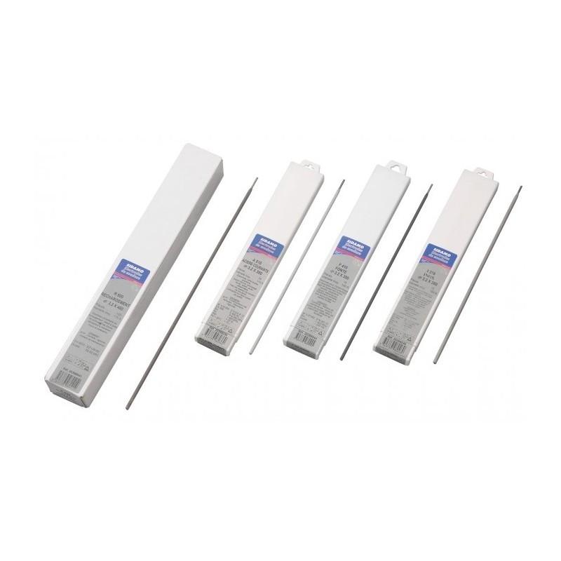 93 Électrodes 2mm pour soudure à l'arc A510 Acier SIDAMO