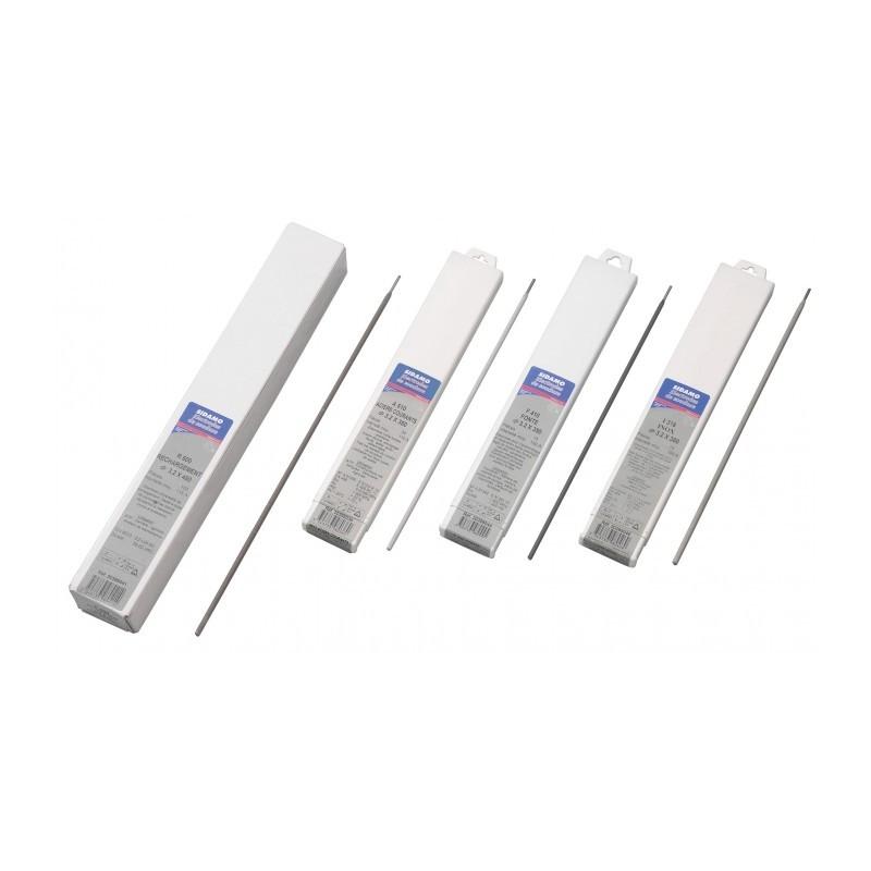 56 Électrodes 2,5mm pour soudure à l'arc A510 Acier SIDAMO
