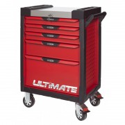 Servante 5 Tiroirs ULTIMATE Rouge KS TOOLS