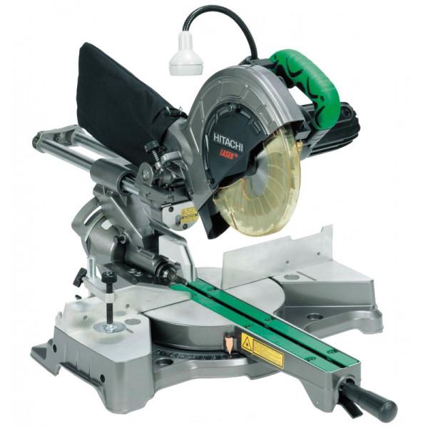 Scie radiale diamètre 216 mm 1050W 65 mm faisceau laser HITACHI
