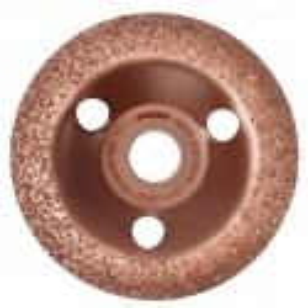 Plateaux à poncer carbure CARBOCUP CONVEXE 125 mm grain 24 SIDAMO