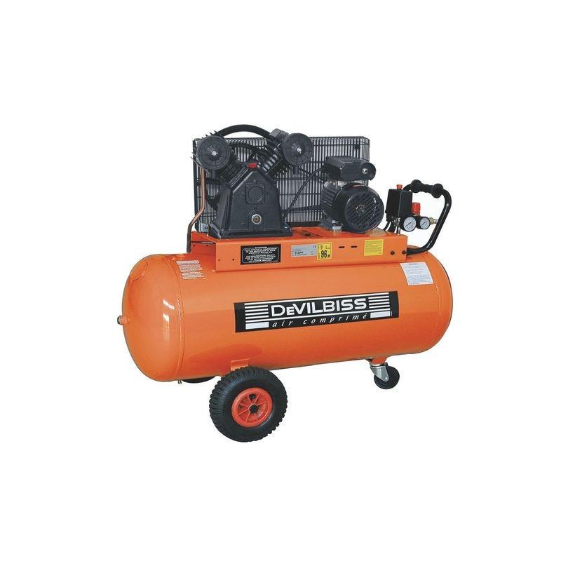 Compresseur d'air à piston 3 Cv 150L DEVILBISS