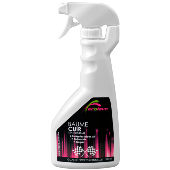 Spray baume cuir 500ml ECOLAVE