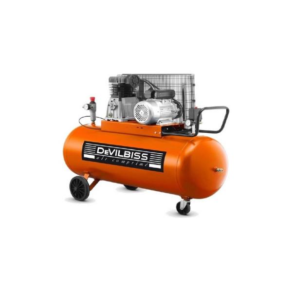Compresseur d'air à piston 200L 3 Cv DEVILBISS