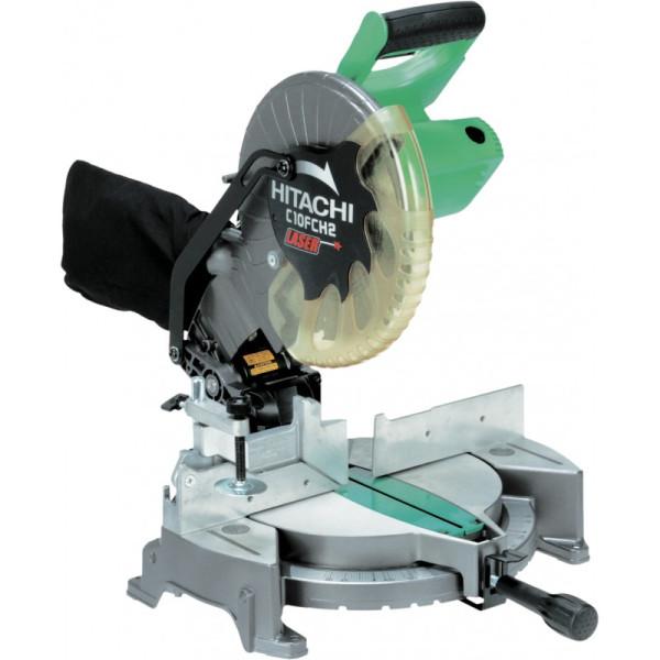 Scie à coupe d'onglet avec faisceau laser 255 mm 1520W Hitachi