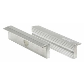 Mordaches finition aluminium 125 mm KS TOOLS pour étaux
