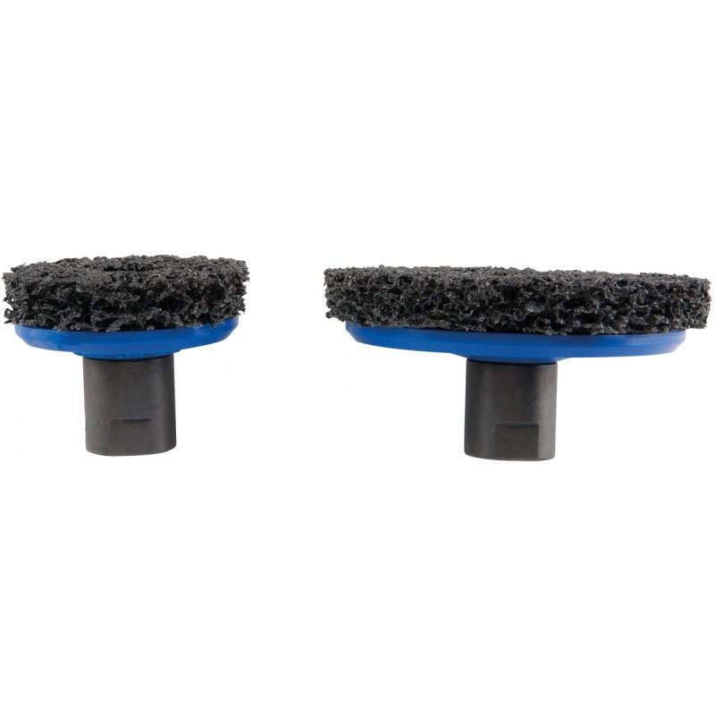 """Jeu de disques à poncer, diamètre 65 mm 105 mm 1/2"""" KS TOOLS"""