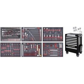 Servante d'atelier TRIO COMPLETO EVA3 280 outils KRAFTWERK