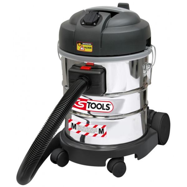 Aspirateur eau et poussière 20 L 1400 W avec filtre poussières KS TOOLS