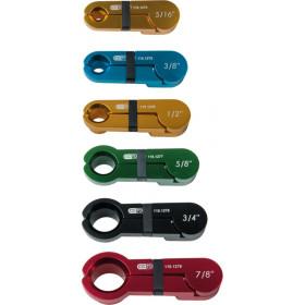 Jeu d'outils pour raccord de climatisation 7 pièces KS TOOLS