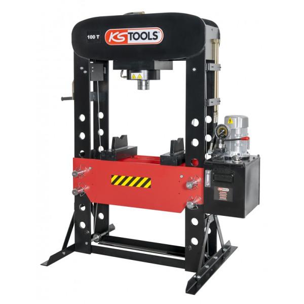 Presse hydraulique motorisée 200T KS TOOLS