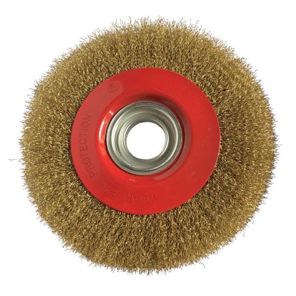 Brosse métallique pour touret 150x20x32 mm KS TOOLS