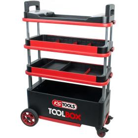 Chariot escamotable TOOLBOX KS TOOLS
