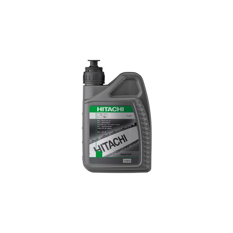 Huile de chaîne de tronçonneuse 1 litre bio-dégradable Hitachi