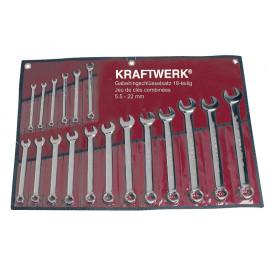 Trousse de 18 clés combinées KRAFTWERK