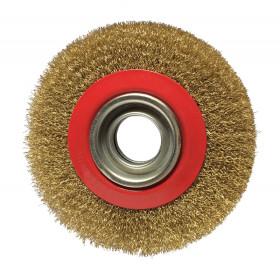 Brosse métallique pour touret 200x20x32 mm KS TOOLS