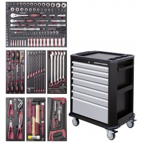 Servante 7 Tiroirs COMPLETO EVA3 189 outils KRAFTWERK