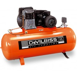 Compresseur d'air à piston 400V 5,5 Cv 270L DEVILBISS
