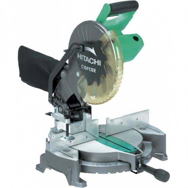 Scie à coupe d'onglet radiale 216 mm 1050W Hitachi