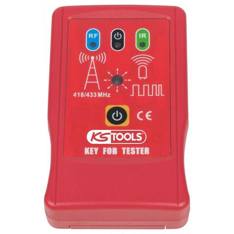 Testeur de clé infra-rouge et haute fréquence 12V KS TOOLS