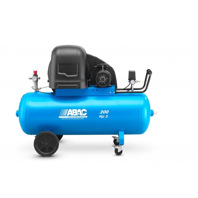 Compresseur d'air insonorisé 270L 3 Cv ABAC