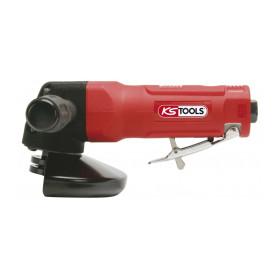 Meuleuse d'angle pneumatique pour disques Ø 125 mm x 22 mm avec protection KS TOOLS