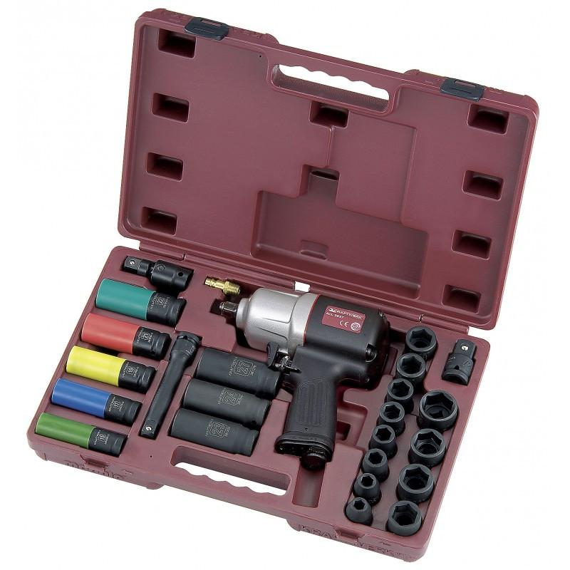 """Coffret de clé à chocs 1/2"""" 1486 Nm avec outils universels modulo KRAFTWERK"""