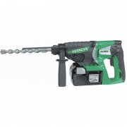 Perforateur 26 mm SDS + 25,2 V avec 2 Batteries 3 Ah Li-ion 2,8 Joules HITACHI