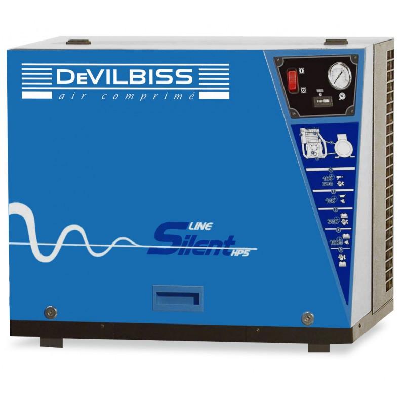 Compresseur d'air à piston 4 Cv Sur base DEVILBISS