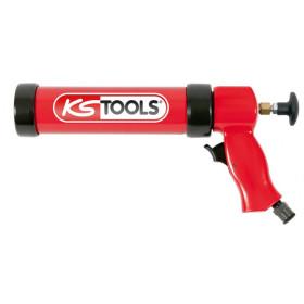 Pistolet pneumatique 400 ml cartouche et poche avec piston KS TOOLS
