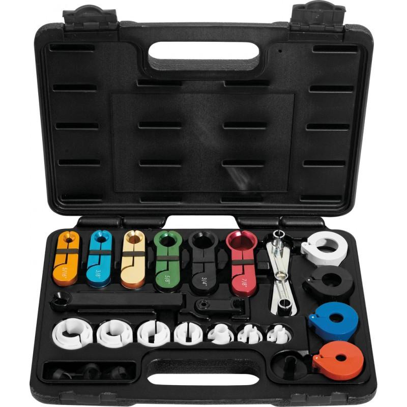 Coffret d'outils pour raccords de climatisation KS TOOLS