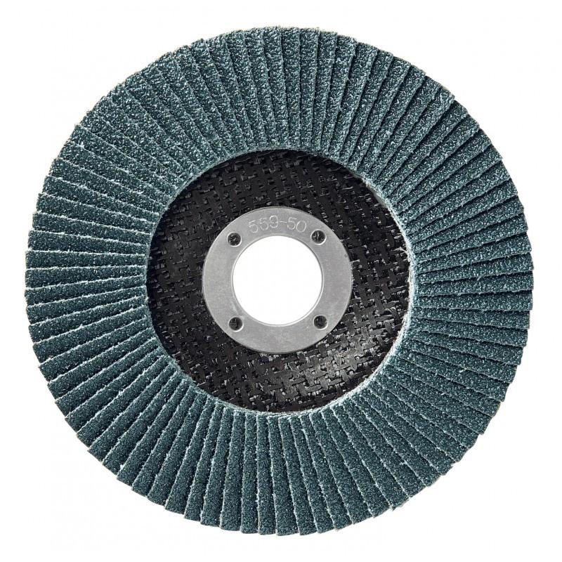 Boîte de 10 disques 125mm LAMDISC INOX PLAT SUPPORT FIBRE SIDAMO