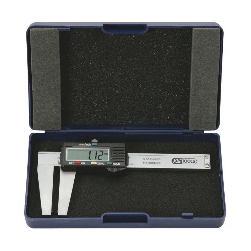 Calibre à coulisse en inox Digital pour disque de frein KS TOOLS