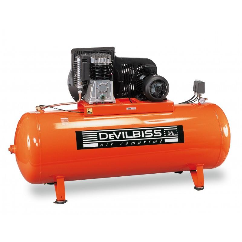 Compresseur d'air à piston 500L 7,5 Cv DEVILBISS