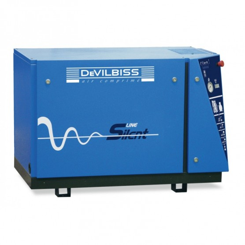 Compresseur d'air à piston 10 Cv - Sur base DEVILBISS