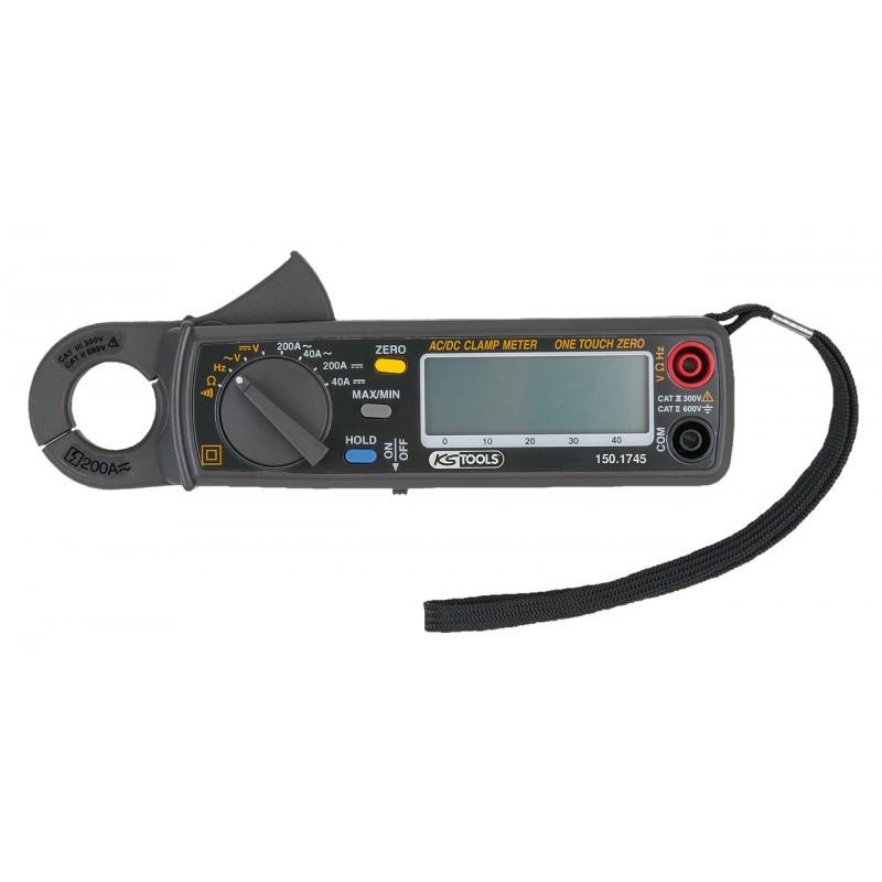 Pince ampèremètre digitale 200A KS TOOLS
