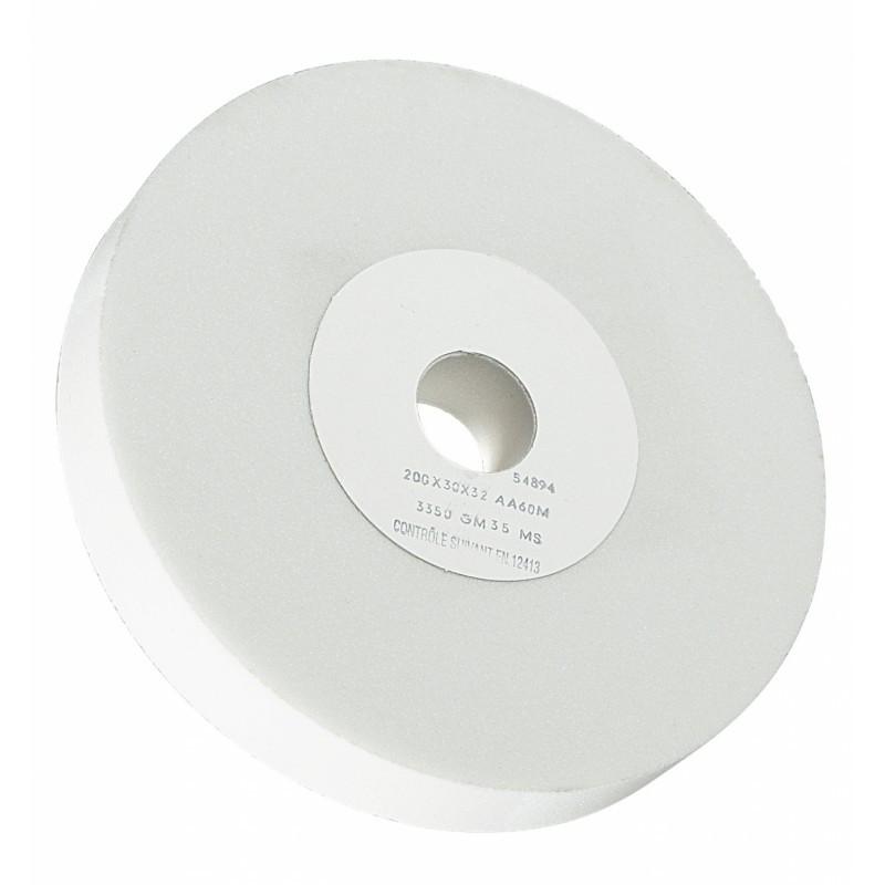 Meule d'affûtage pour Touret à Meuler Grain AA60M Dimension 200x20x32 SIDAMO