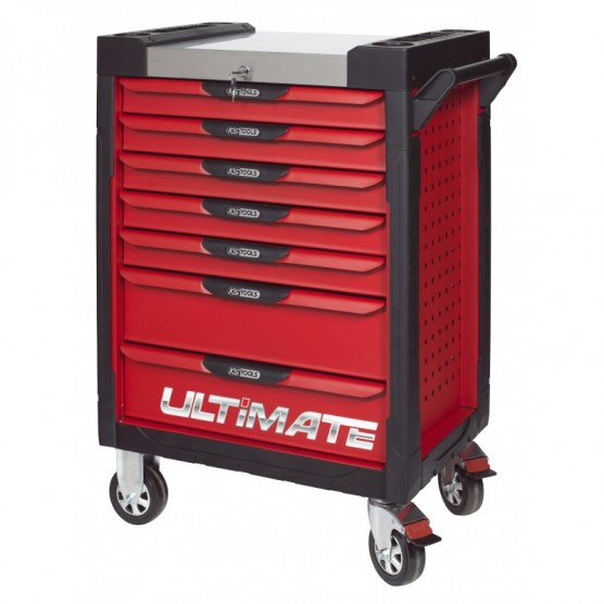 Servante 7 Tiroirs ULTIMATE Rouge KS TOOLS