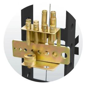Kit de poinçons pour presses hydrauliques KS TOOLS