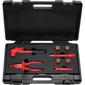 """Coffret d'outils isolés 3/8"""", 8 pièces KS TOOLS"""