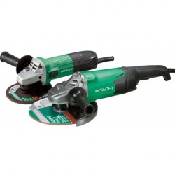 Pack meuleuse 230mm 2000W + meuleuse 125mm 600 W HITACHI