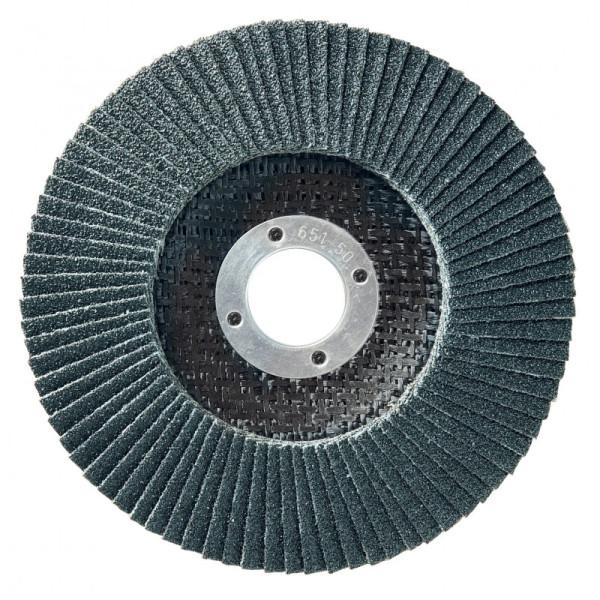 Boîte de 10 disques 125mm LAMDISC INOX CONVEXE SUPPORT FIBRE SIDAMO