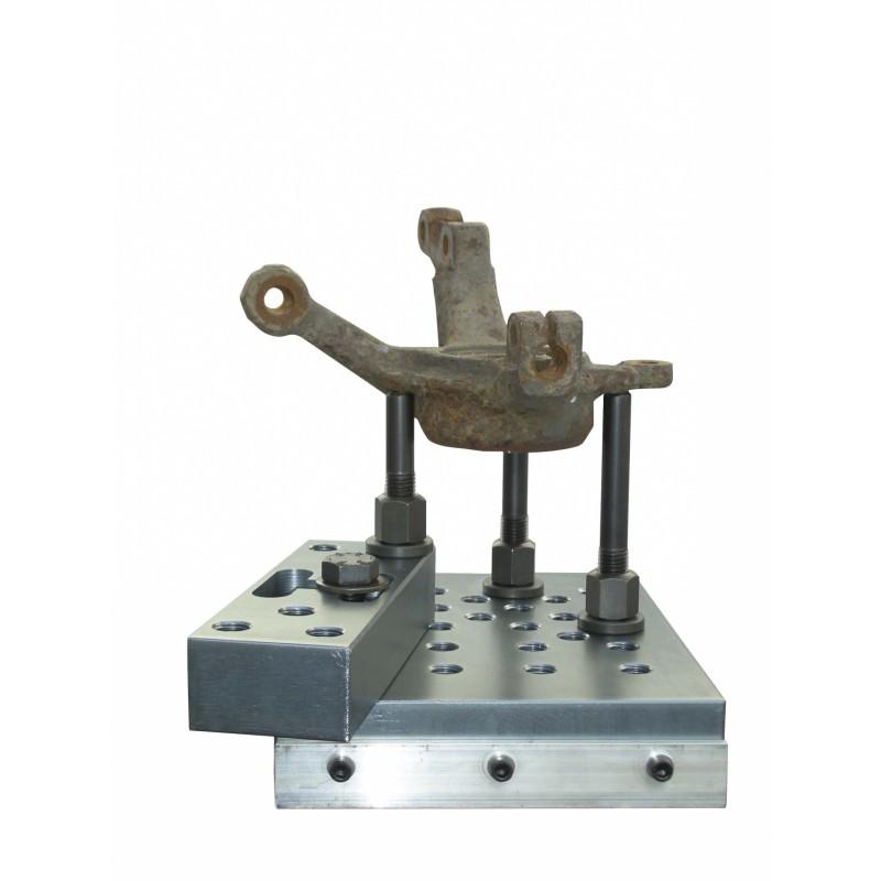 Support universel KS TOOLS pour presse hydraulique