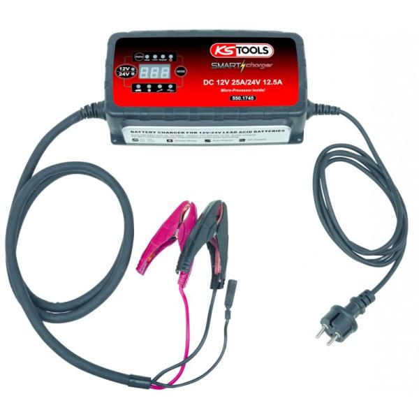 Chargeur de batteries haute fréquence KS TOOLS