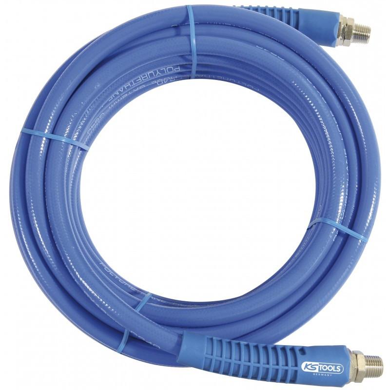 Rallonge d'air et eau comprimé tuyau 20 m, diam 9 mm X 12 mm KS TOOLS
