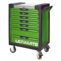 Servante 7 Tiroirs ULTIMATE Vert KS TOOLS