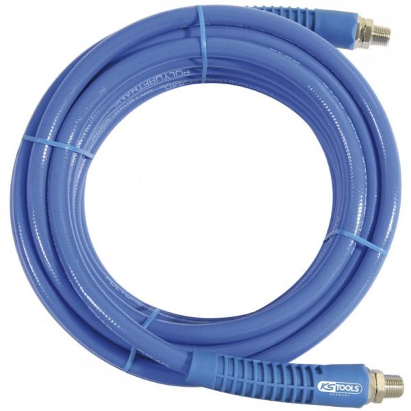 Rallonge d'air et eau comprimé tuyau 20 m, diam 12 mm X 16 mm KS TOOLS