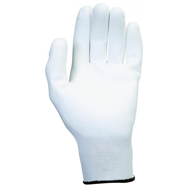 12 Paires Gants microfibres blancs KS TOOLS