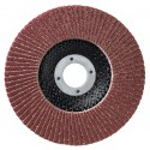 Boîte de 10 disques 125mm LAMDISC PLAT SUPPORT FIBRE SIDAMO